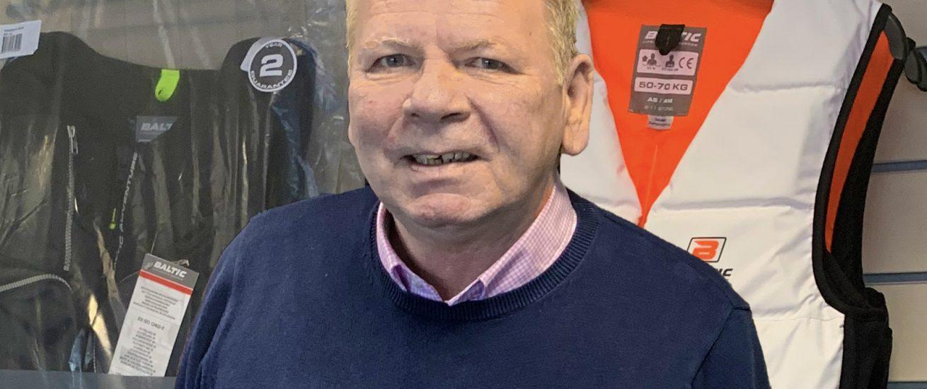 Mark Dixon at Baltic Lifejackets