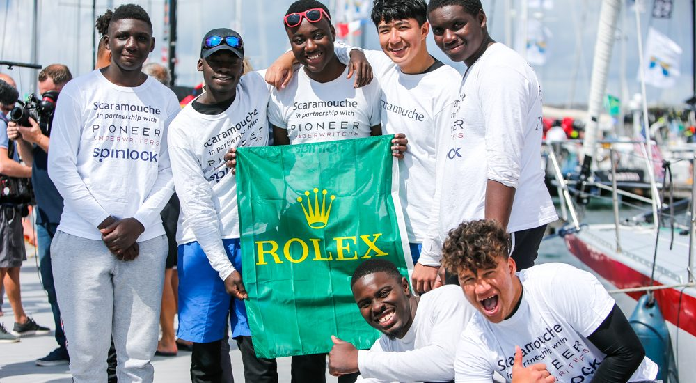 Scaramouche complete Rolex Fastnet Race 2019 - Credit Paul Wyeth