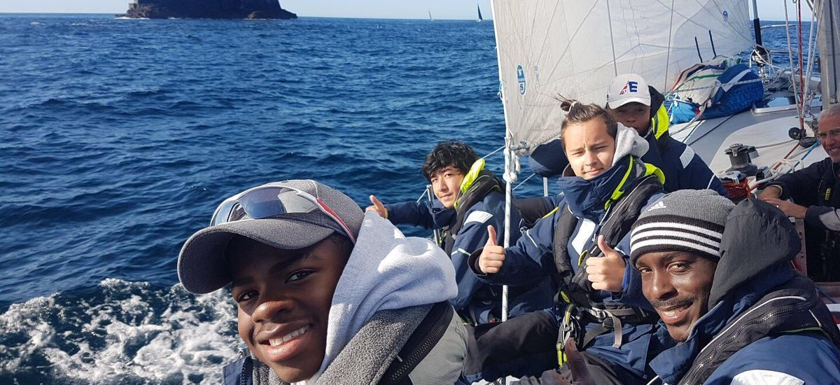 Scaramcouche round the Fastnet Rock 2017