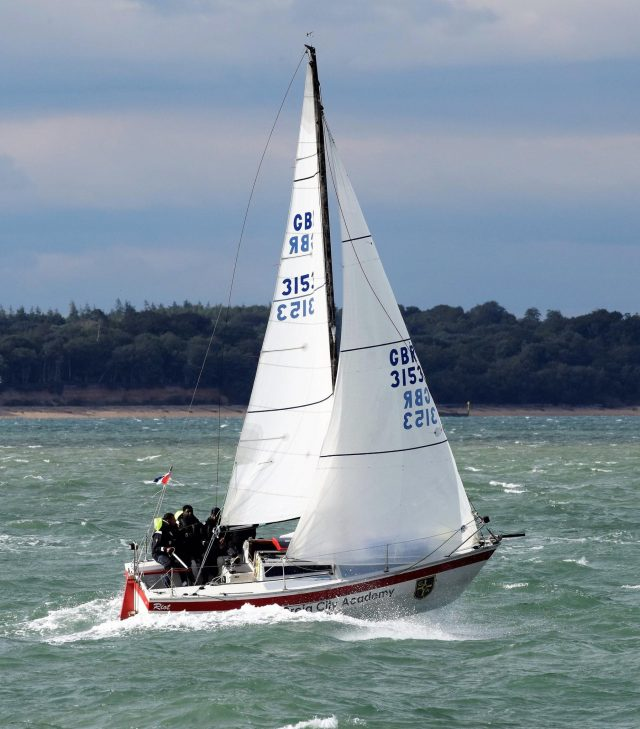 riot sailing with the scaramouche sailing trust in 2020
